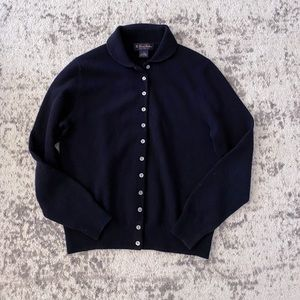 Brooks brothers button down cardigan m